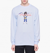 Primitive Skateboarding - Primitive Skateboards x Dragon Ball Nuevo Vegeta Long Sleeve Tee