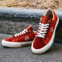 Vans - x Pass-Port Sid Pro Ltd - Brick Red