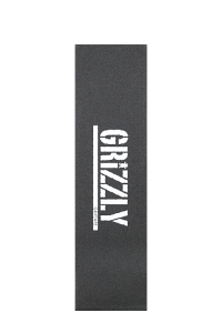 Grizzly Grip -  Stamp Print White
