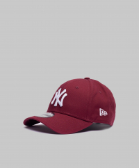 New Era - 9Forty New York Yankees Maroon/White