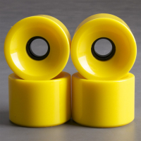 NoBrand - Yellow 70mm 83a