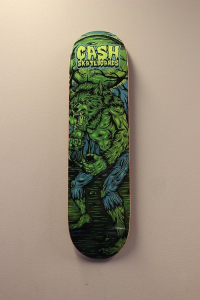 "Cash skateboards - ""Werewolf"""