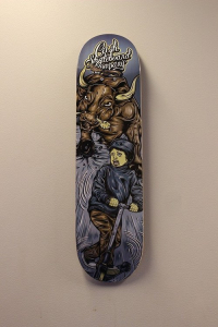 "Cash skateboards - ""Bull fighting"""