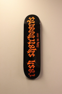 "Cash skateboards - ""no.666"""