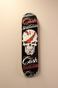 "Cash skateboards - ""Terminator"""