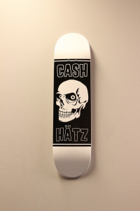 "Cash skateboards - ""Big skull"""