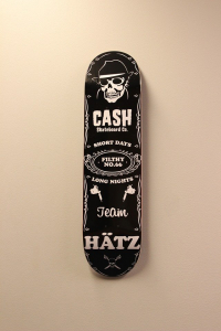 "Cash skateboards - ""JD Logo"""