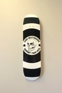 "Cash skateboards - ""Support your local"""