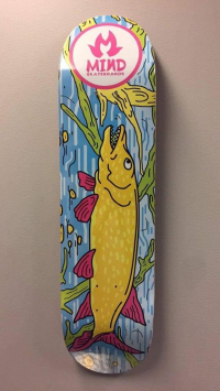 "Mind skateboards - ""Pike"""