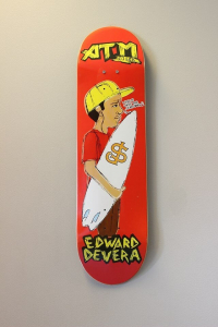 "ATM Skateboards - ""Edward Devera"" 8,25"