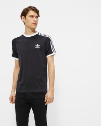 Adidas - 3-STRIPES TEE CW1202 T-shirt - Regular fit - Svart