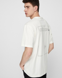 Adidas - GRP Tee T-shirt - Regular fit - Off white