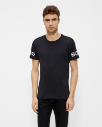 Björn Borg - T-shirt - Regular fit - Svart melerad