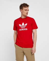 Adidas - Trefoil t-shirt - Regular fit - Röd