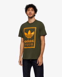 Adidas - Vintage Tee T-shirt - Regular fit - Grön