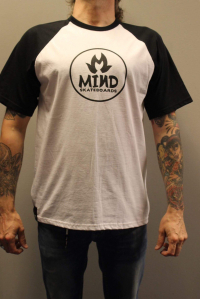 "Mind skateboards - ""Baseball t"