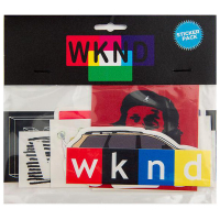 "WKND Skateboards -  ""Sticker Pack"""