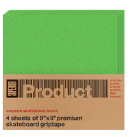 "Superior -  ""4 Sheets 9×9"" Griptape Grön"