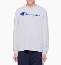 Champion - Long Sleeve Big Script Tee