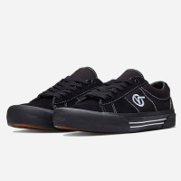 Vans - Saddle Sid Pro - Black/Black/White