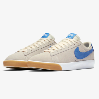 Nike - Zoom Blazer Low GT - Pale Ivory/Pacific Blue-White