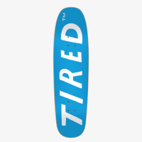 Tired Skateboards - Tired Uppercase Stumpnose