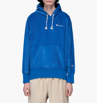 Champion - Corduroy Hooded Sweatshirt