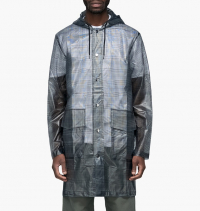 Rains - Check Hooded Coat