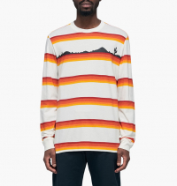 Nike - Tee Long Sleeve Wheelin AOP