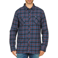 Rip Curl - OBSESSED CHECK FLANNEL L/S SHIRT Blå