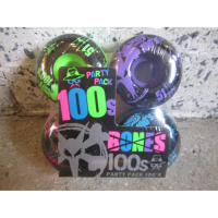 Bones - (52-53mm 100a) 100 s V1 Colored Partypack