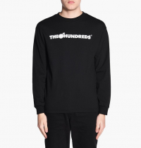 The Hundreds - Forever Bar Logo Long Sleeve Tee