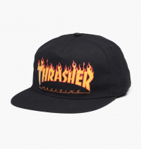 Thrasher - Flame Logo Structured Snapback