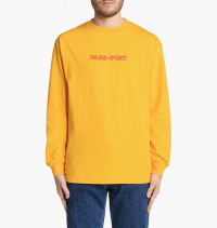 Pass Port - Brick Embroidery Long Sleeve Tee
