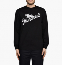 The Hundreds - Forever Slant Logo Long Sleeve Tee