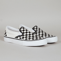 Vans - Slip-On Pro - (Checkerboard) Black/White