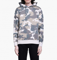 WeSC - Mike Camo hooded sweatshirt