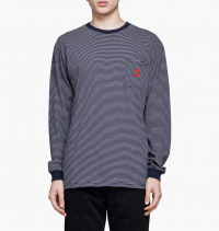 Chrystie NYC - C Logo Pocket Long Sleeves Tee