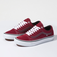 Vans - Old Skool Pro - Rumba Red/True White