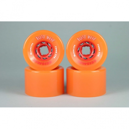 Seismic (78mm 77a) Blast Wave Translucent Orange