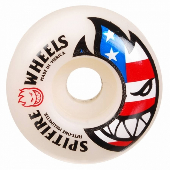 Spitfire Wheels  (52mm 99a) Classics Flaghead