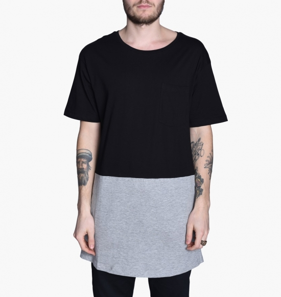 Sweet Tall Curved Pocket Tee